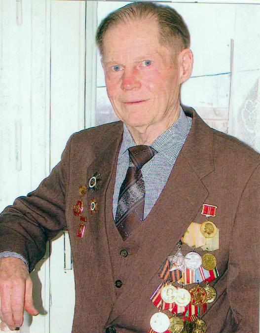 Ветеран ВВв Кузнецов О.Г.